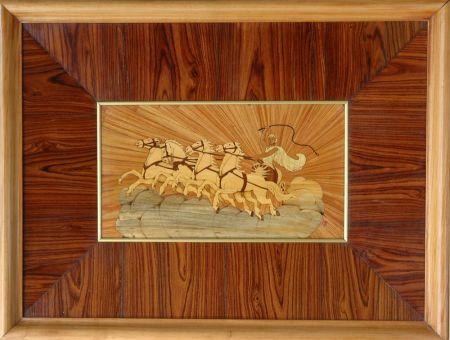 Quadro artigiano del legno e restauratore legno ad arte for Portaritratti legno